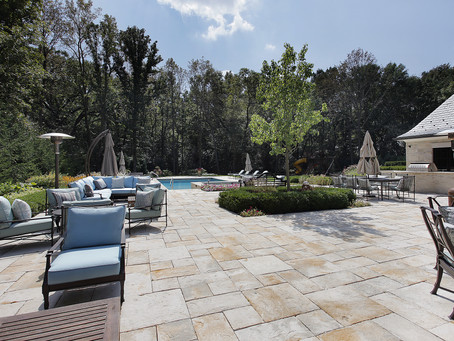 Old Saybrook, CT – Pool Patios, Outdoor Living Spaces, Poolscapes Masonry in Old Lyme, CT