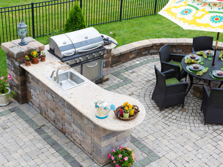 Madison, CT - Masonry Construction Contractor - Stone Patios & Walkways, Outdoor Kitchen & Fireplace