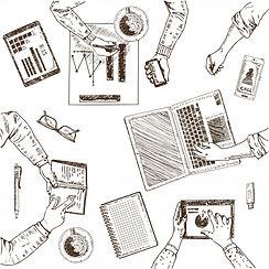 concept-croquis-travail-equipe_1284-3724