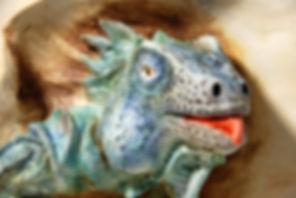 ceramic vase, vase with sculpture, animal sculptures, clay art, ceramic animals, pottery sculpture, natural art, green iguana, lizard