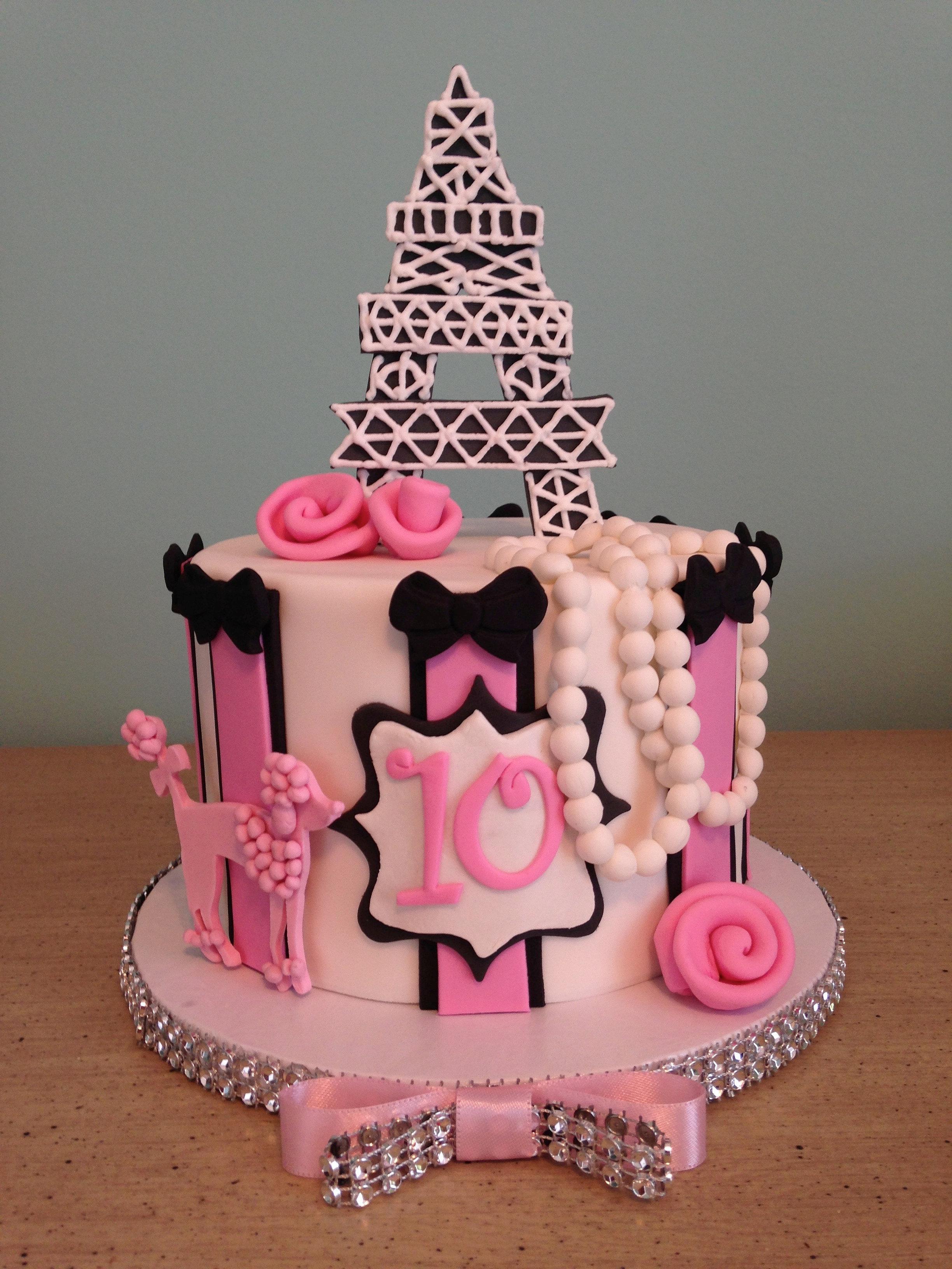 Order Birthday Cake Paris Sweets Photos Blog - Birthday cake paris