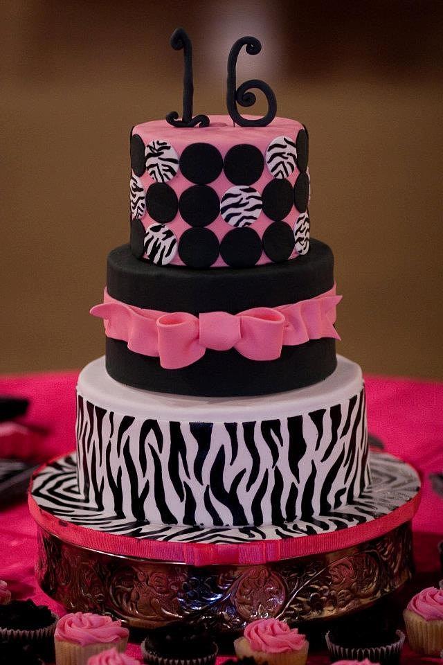 Slice Diva Birthday Cake