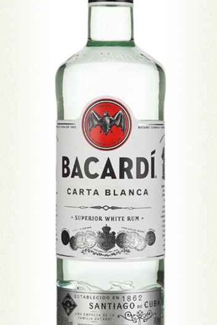 Bacardi White Rum (70cl)