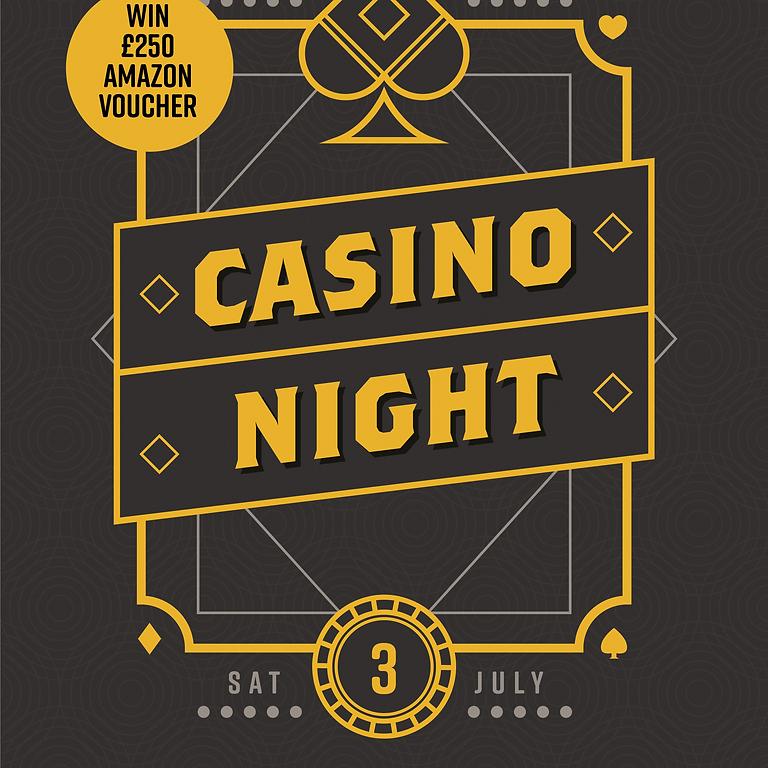 Casino Night (RESCHEDULED Date TBC)