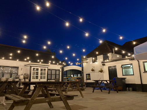 The New Inn Courtyard
