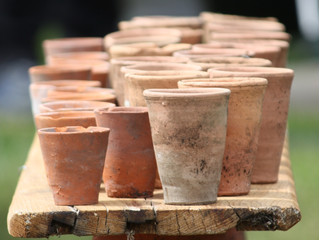 Flowerpot Friday - 19th Century English Horticultural Terracotta