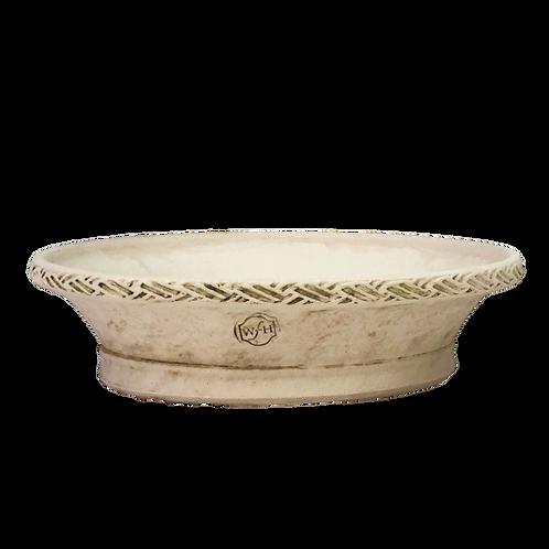 #4 Braided Rim Pedestal Pan