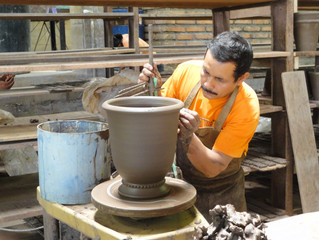 ''Why are you making pots in Honduras?''
