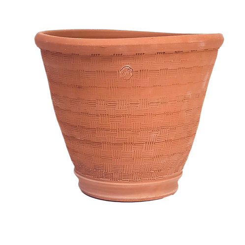 #12 Basketweave, Red Terracotta
