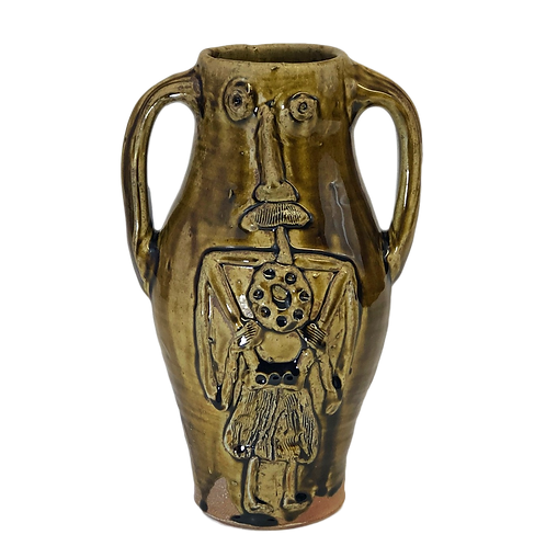 Medieval English Style Face Jug
