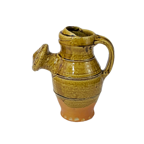 Amber Glazed Watering Can