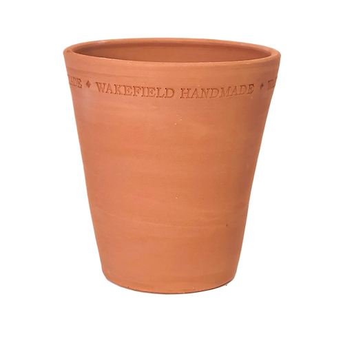 #4 English Work Pot, Red Terracotta, Single or Sets