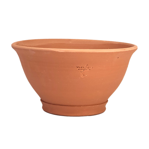 #6 Punch Bowl, Red TerraCotta