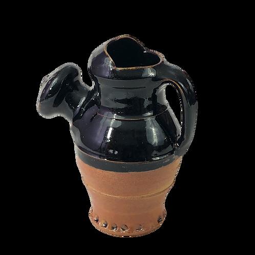 Tenmoku Glazed Watering Can