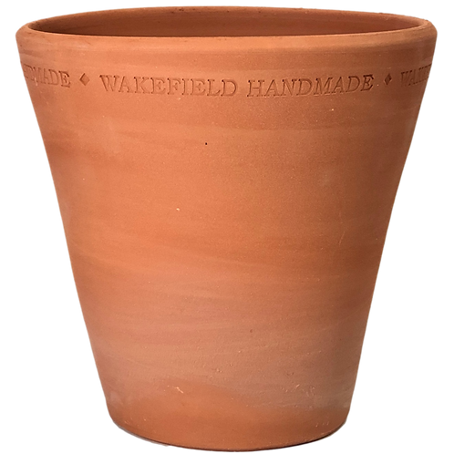 #6 English Work Pot, Red Terracotta, Single or Sets
