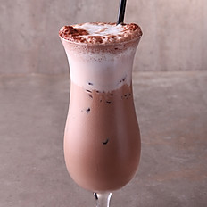 •	Iced Caraibe chocolate