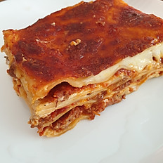 Lasagne with beef ragout