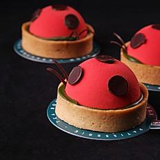 Ladybug tart
