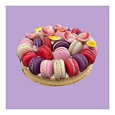 Macarons tart