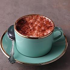 Hot Araguani chocolate