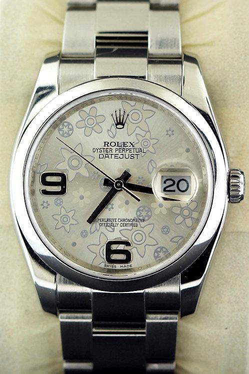 2008 Women's Flower Datejust Rolex