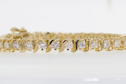 6 Carat S Forte Diamond Tennis Bracelet