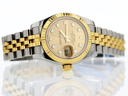 2005 Women's Two Tone Datejust Rolex