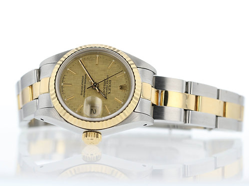 1988 Women's Two Tone Datejust Rolex