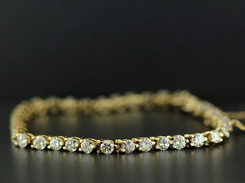 5 Carat Split Shared Prong Diamond Tennis Bracelet