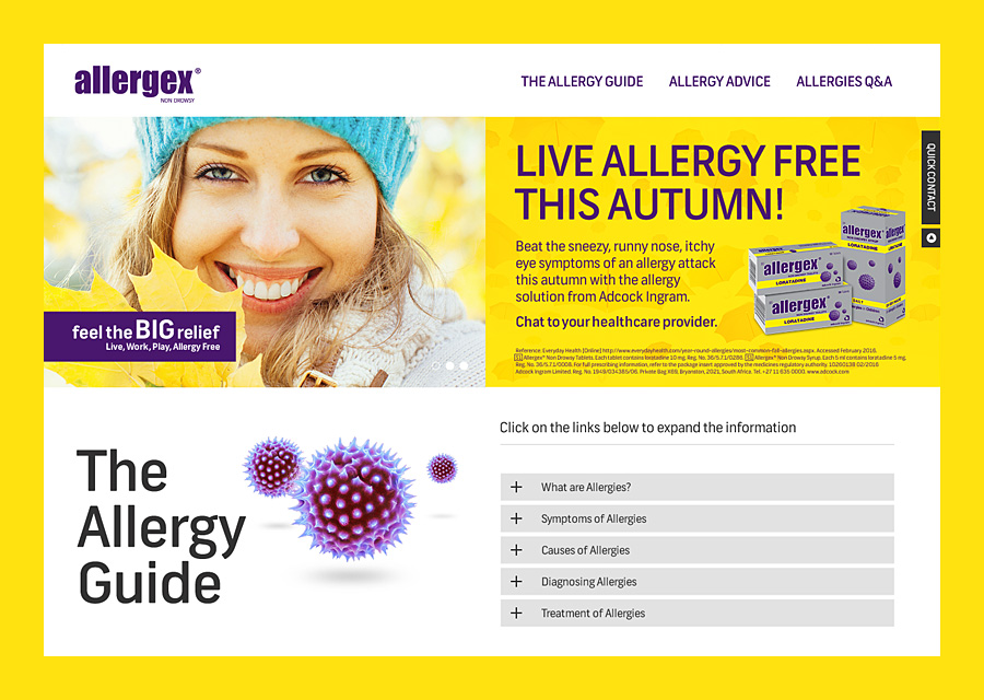 Allergex (Website)