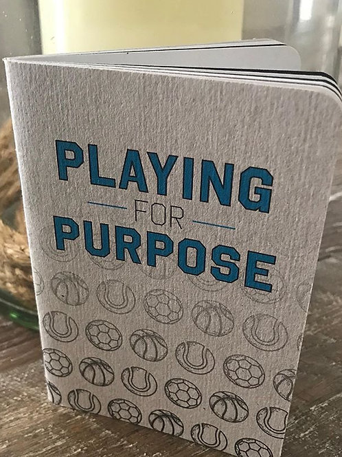 Playing for Purpose Scout Book