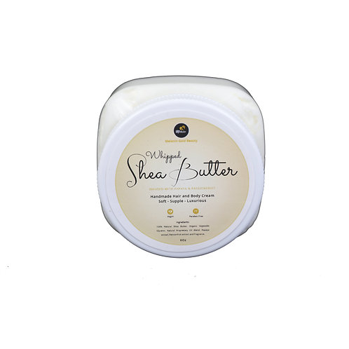 Hand Crafted Whipped Shea Butter