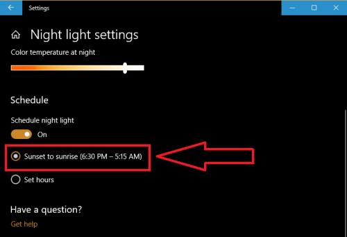 Ambino |  Bảo vệ mắt với chức năng ban đêm của windows 10 - cách bật night light mode | Ảnh 5