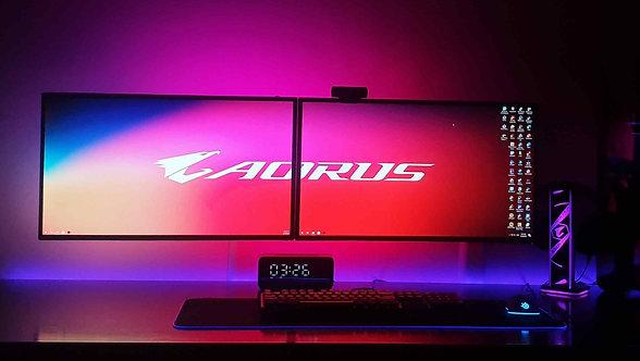 Combo Led dán 2 màn hình 29-34inch Ambino Black.