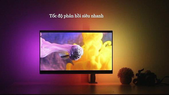 Bộ Led dán màn hình 29-34inch Ambino Black