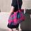Thumbnail: Maxi Tote bag en wax « MANDALA»