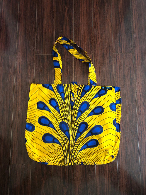 Maxi Tote bag en wax « KERRY »
