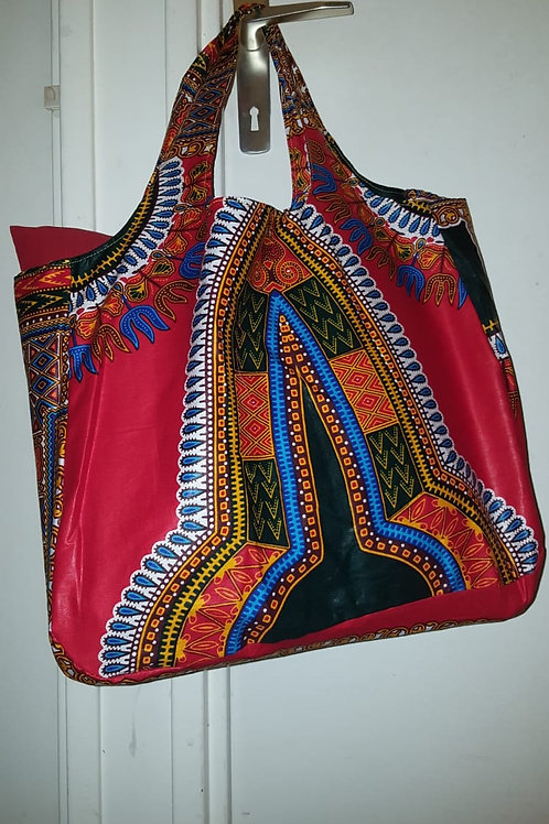 Sac pliable en wax « DASHIKI »