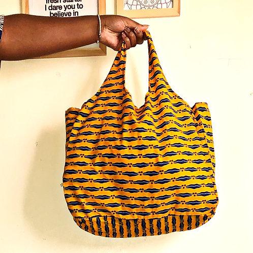 Sac pliable en wax « NAIROBI»