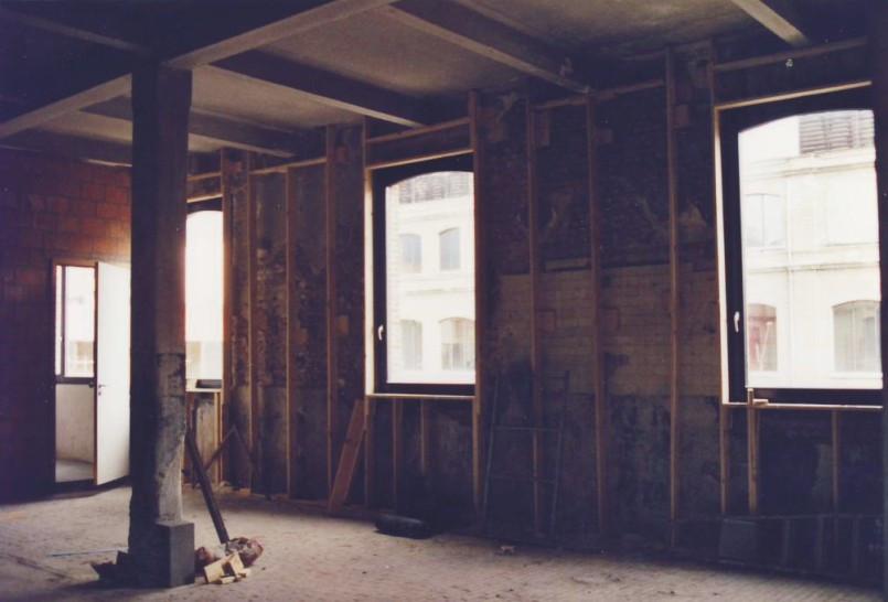 Loft à Laeken: rénovation contemporaine travaux