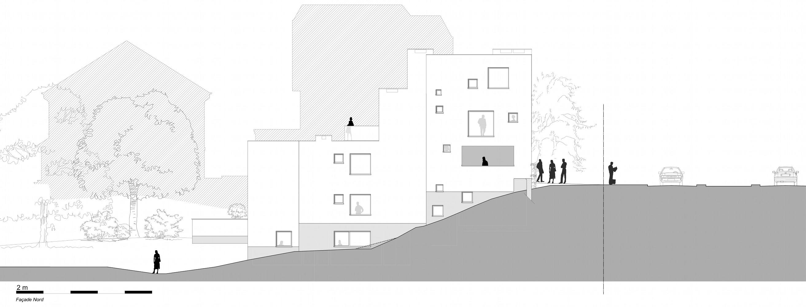 Immeuble à appartement contemporain à Forest