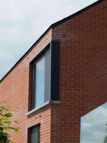 Maison contemporaine à Genappe en briques