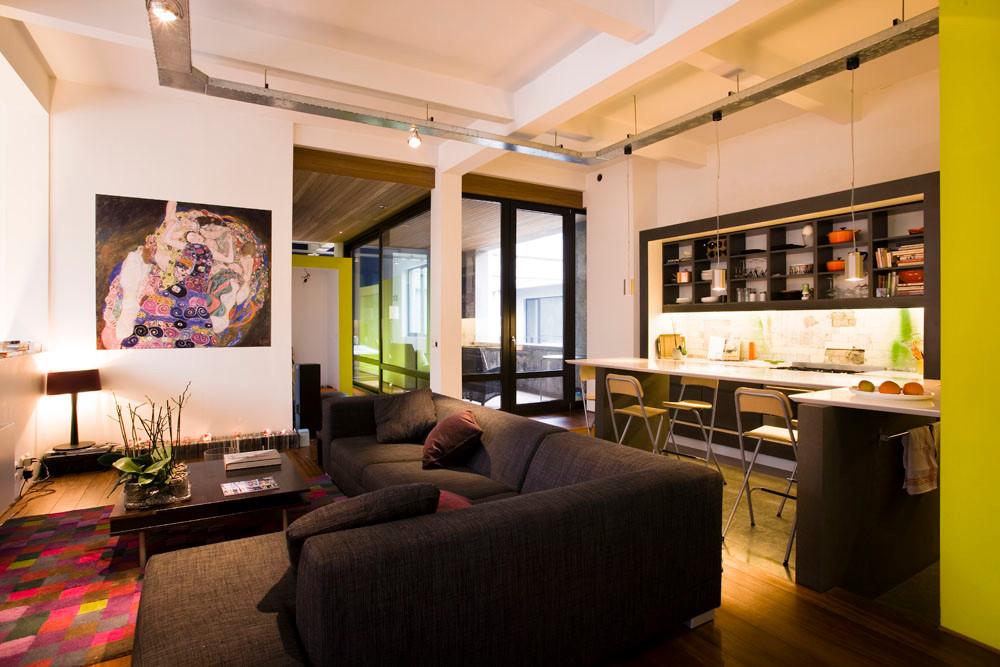 Loft architecture contemporaine à Laeken