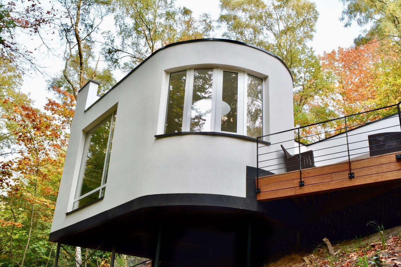 Maison contemporaine à Wavre dans les bois