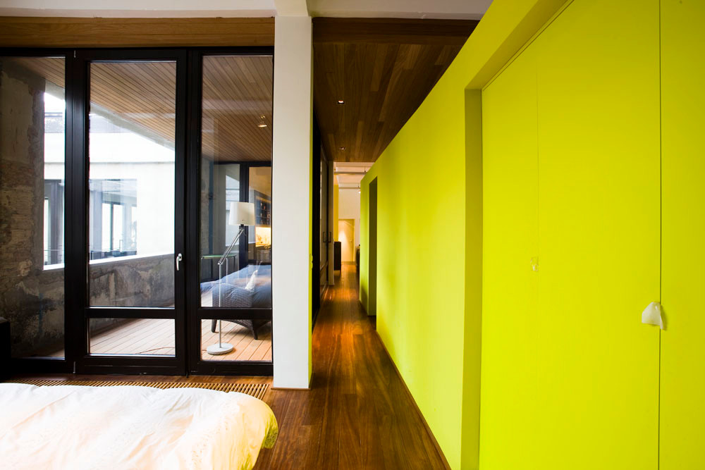 Loft à Laeken: rénovation contemporaine