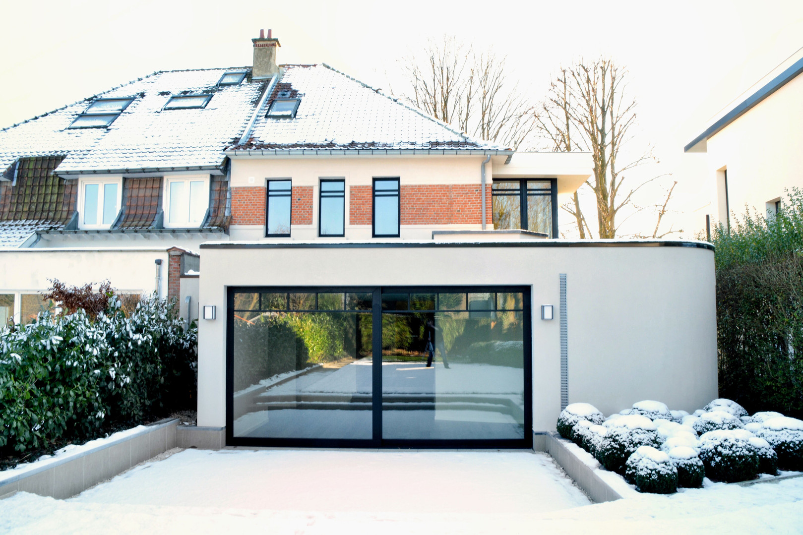 Extension contemporaine Watermael-Boitsfort