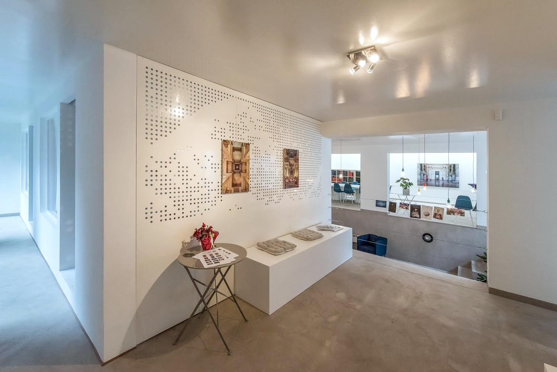 Rénovation contemporaine cabinet d'avocat à Uccle