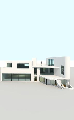 Maiosn contemporaine à Waterloo: projet d'architecture en cours