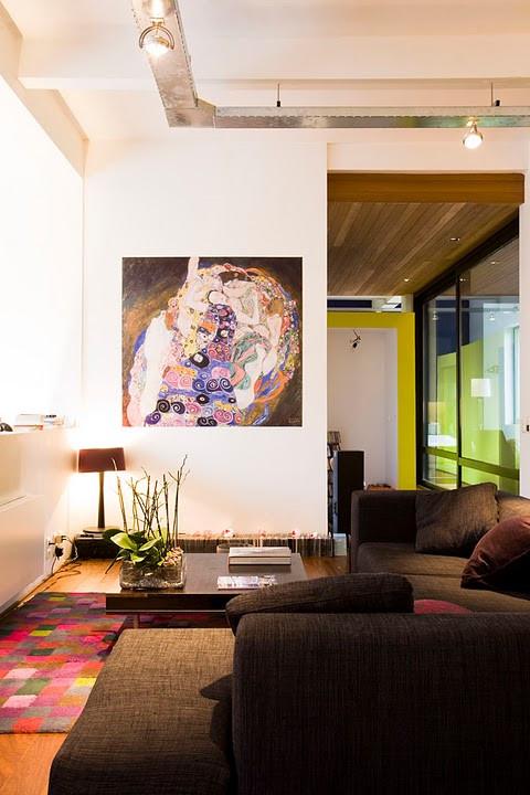 Loft à Laeken: grands espaces moderne