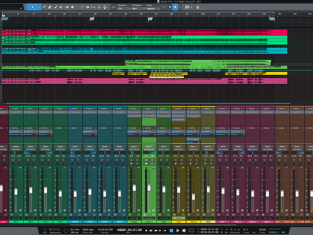 Mixing and Mastering Project Underway!